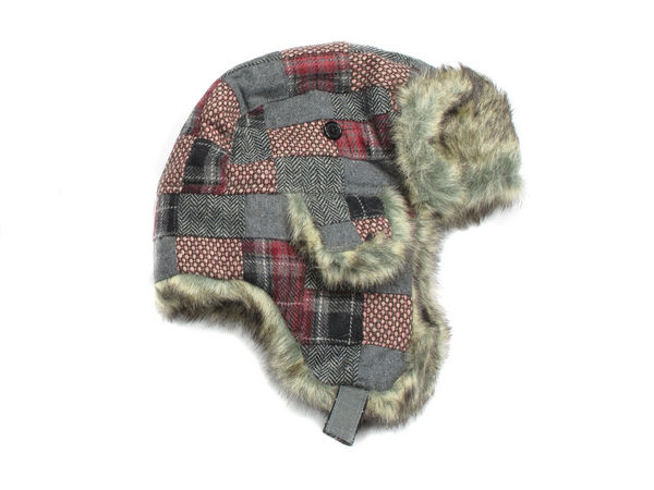 288528b90b17d1 Weeton Patch Check Trapper Hat - Pink - Buy 1 Get 1 Free